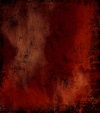 Gloomy vintage texture ideal for retro backgrounds. In red dark Royalty Free Stock Photos