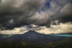 Gloomy volcano Royalty Free Stock Photography