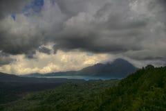 Gloomy volcano Royalty Free Stock Image