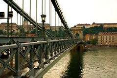 Gloomy weather in Budapest Royalty Free Stock Photo