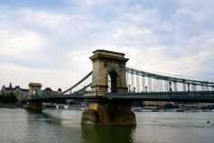 Gloomy weather in Budapest Royalty Free Stock Photos