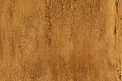 Gloomy wooden rustic background, peeling old paint. Royalty Free Stock Photography