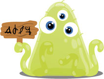 Gloop Alien Stock Photo