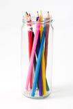 glored blyertspennor Fotografering för Bildbyråer