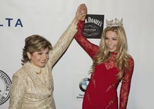 Gloria Allred and Kira Kazantsev Royalty Free Stock Photo