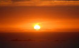 Gloria anaranjada Imagen de archivo libre de regalías