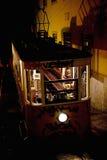 The Gloria Cable car Lisbon, Portugal Stock Photography