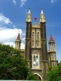 Gloria Church, Mumbai, India. Gloria Church (Portuguese: Nossa Senhora de Gloria) is one of the oldest Roman Catholic churches in Mumbai built by the Portuguese Royalty Free Stock Photography