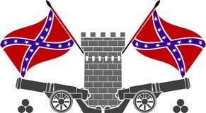 Gloria de la confederación Imagen de archivo libre de regalías