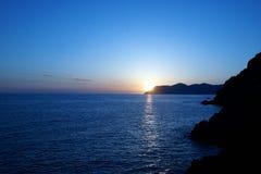 Gloria de la puesta del sol Imagenes de archivo