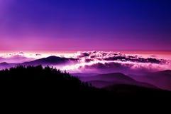Gloria della montagna Fotografie Stock