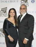 Gloria Estafan en Emilio Estefan royalty-vrije stock afbeelding