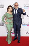 Gloria Estefan and Emilio Estefan Royalty Free Stock Image