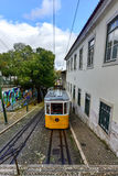 Gloria Funicular - Lisbon, Portugal Stock Image