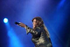 Gloria Gaynor Foto de Stock Royalty Free