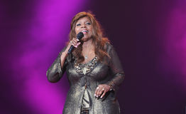 Gloria Gaynor Royalty-vrije Stock Fotografie