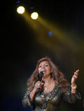 Gloria Gaynor Fotografia de Stock Royalty Free