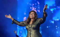 Gloria Gaynor Royalty Free Stock Images