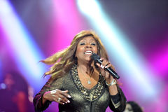 Gloria Gaynor stock photography