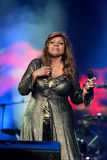 Gloria Gaynor performing at Exit festival Royalty Free Stock Photography