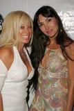 Gloria Kisel and Anna Aoun. At the Jelessy Collection Summer Party. Cabana Club, Hollywood, CA. 08-17-05 Royalty Free Stock Photos