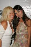 Gloria Kisel and Anna Aoun. At the Jelessy Collection Summer Party. Cabana Club, Hollywood, CA. 08-17-05 Stock Photos