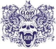 Gloria o morte Fotografia Stock Libera da Diritti