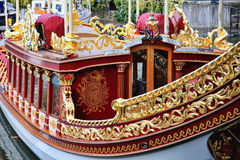 Gloriana королевская баржа Стоковая Фотография