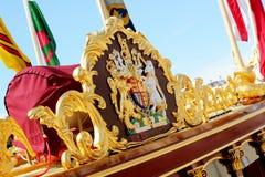 The Gloriana Rowbarge Royalty Free Stock Photos