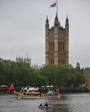 The Gloriana during Royal Pageant Royalty Free Stock Photo