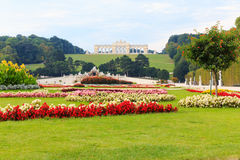 Glorietta in park of Schonbrunn Palace Royalty Free Stock Photography