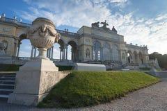 Gloriette在维也纳,奥地利 库存照片
