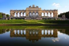 gloriette宫殿schoenbrunn维也纳 图库摄影