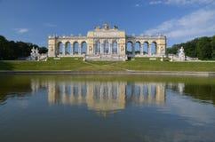 Gloriette в парке Schoenbrunn, вене Австрии Стоковые Изображения