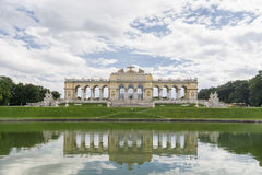 Gloriette binnen Schonbrunn-Paleis, Wenen, Oostenrijk Stock Fotografie