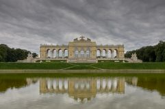 Gloriette building Stock Photo