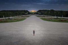 Gloriette chez Schonbrunn Vienne, Autriche Images libres de droits