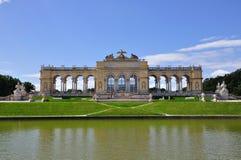 Gloriette dans le palais de Schonbrunn, Vienne, Autriche Images stock