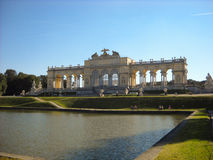 Gloriette dans Schonbrunn, Vienne Image stock