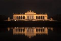 Gloriette em jardins do palácio de Schoenbrunn - Viena, Áustria Fotografia de Stock