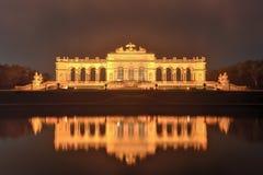 Gloriette em jardins do palácio de Schoenbrunn - Viena, Áustria Imagem de Stock Royalty Free