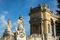 Gloriette Garten, Schloss Schonbrunn - Viena, Austria Imagen de archivo