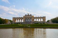 Gloriette im Schonbrunn-Palast-Garten Lizenzfreies Stockbild