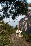 Gloriette on mountain Stock Images