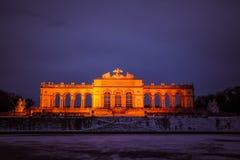 Gloriette på slottträdgården av Schönbrunn Wien Royaltyfri Foto