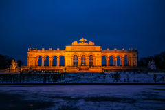 Gloriette at the Palace Garden of Schönbrunn Vienna Stock Images