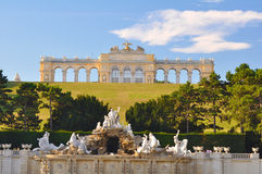 Gloriette, Schönbrunn, Vienna. Gloriette, Schonbrunn palace in Vienna Austria Royalty Free Stock Image