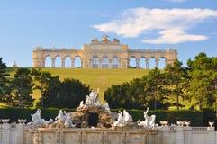 Gloriette, Schönbrunn, Wenen Royalty-vrije Stock Afbeelding