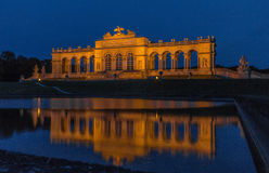 Vienna Gloriette Schoenbrunn Night Royalty Free Stock Image