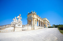 The Gloriette in Schoenbrunn Palace Garden Stock Photo